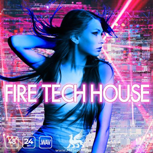 Fire Tech House WAV-FLARE